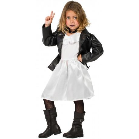 Disfraz de Tiffany Novia de Chucky Infantil