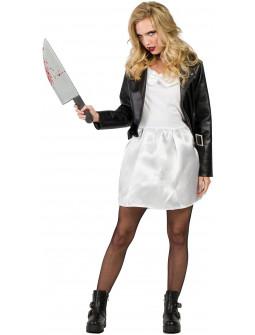 Disfraz de Tiffany Novia de Chucky para Adulto