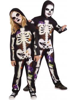 Disfraz de Esqueleto Divertido Infantil