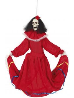 Catrina Bailarina Colgante de Decoración