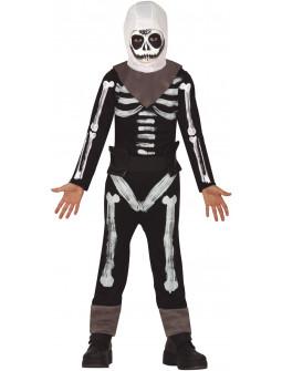 Disfraz de Esqueleto Skull Trooper Infantil