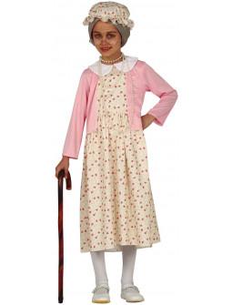 Disfraz de Abuelita para Niña