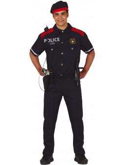 Disfraz de Mosso d'Esquadra para Adulto