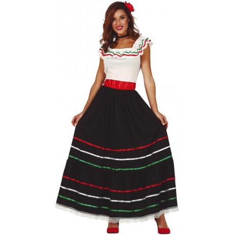 Disfraz de Mexicana Clásico para Adulto