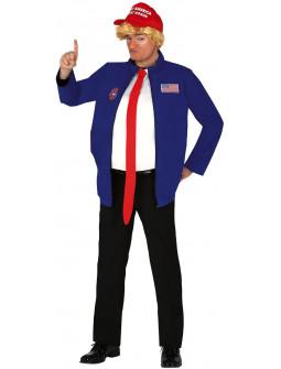 Disfraz de Presidente Trump para Hombre