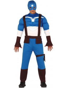 Disfraz de Capitán Estrella para Adulto