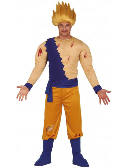 Disfraz de Goku Super Saiyan para Adulto