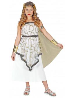 Disfraz de Diosa Griega con Capa para Niña