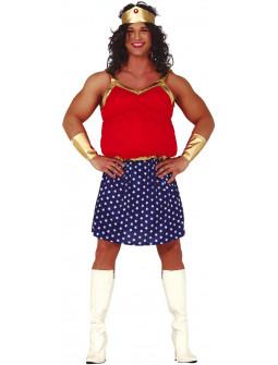 Disfraz de Wonder Lady para Hombre