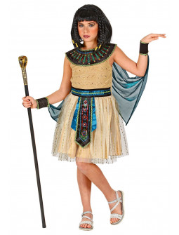 Disfraz de Emperatriz Egipcia Elegante para Niña