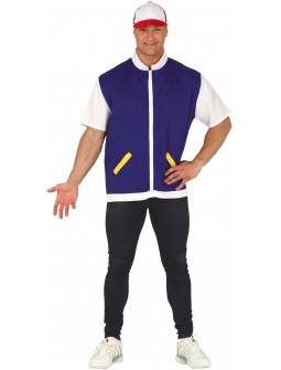 Disfraz de Ash Ketchum para Adulto
