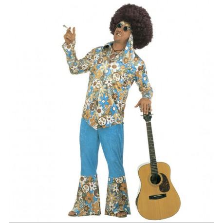 Disfraz De Hippie - Talla Grande -