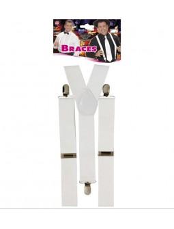 Tirantes Blancos - Braces -