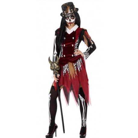 Disfraz de Hechicera Vudú para Mujer