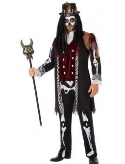 Disfraz de Hechicero Vudú para Adulto