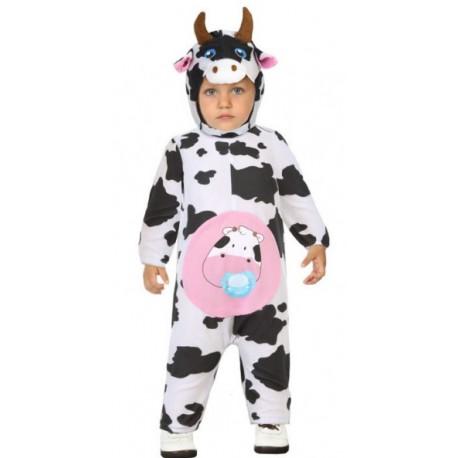 Disfraz de Vaca con Cuernos para Bebé