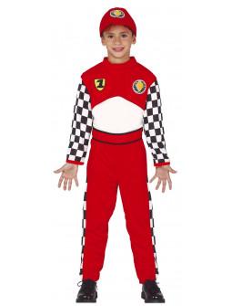 Disfraz de Piloto de Fórmula 1 para Niño