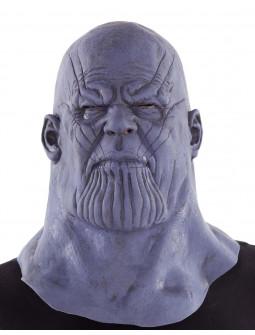Máscara de Thanos el Titán Loco con Cuello