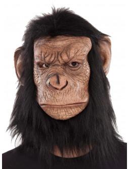 Máscara de Mono de El Planeta de los Simios con Pelo
