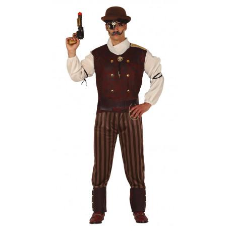 Disfraz de Mercenario Steampunk para Hombre