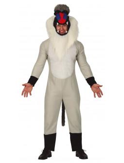 Disfraz de Mandril Rafiki El Rey León para Adulto