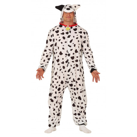 Disfraz de Dálmata Pijama para Adulto