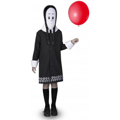 Disfraz de Miércoles Addams Oficial para Niña