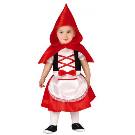 Disfraz de Caperucita Roja con Capa para Bebé