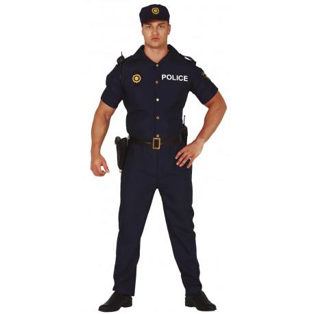Disfraz de Policía Nacional para Hombre