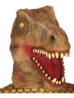 Máscara de Dinosaurio de Látex