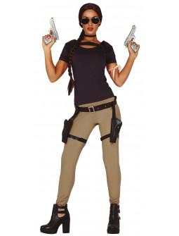 Disfraz de Aventurera Lara Croft para Mujer