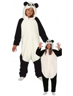 Disfraz de Oso Panda Pijama de Peluche Infantil