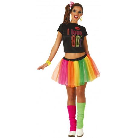 online mujer venta barata ee. Disfraz de Chica Años 80 para Mujer