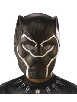 Máscara de Black Panther Marvel Infantil