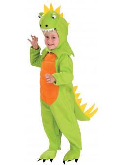 Disfraz de Dinosaurio Verde con Sonido Infantil