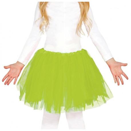 Tutú Verde Claro para Niña