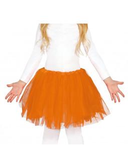 Tutú Naranja para Niña