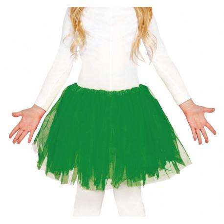 Tutú Verde para Niña