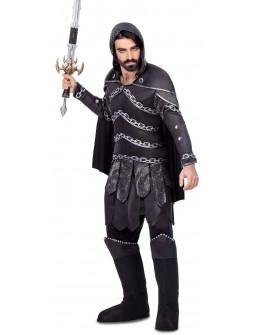 Disfraz de Guerrero Medieval Tenebroso para Hombre