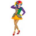Disfraz de Payasa joker para Mujer