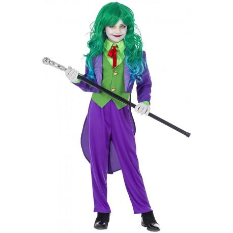 Disfraz de Joker Elegante para Niña