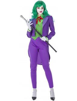 Disfraz de Joker Elegante para Mujer