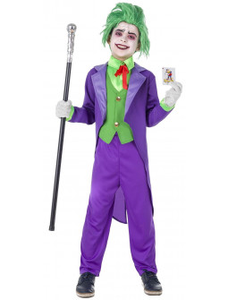 Disfraz de Joker Elegante para Niño
