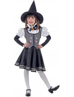 Disfraz de Bruja Vintage para Niña