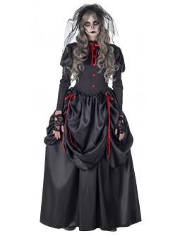 Disfraz de Viuda Negra Siniestra para Mujer