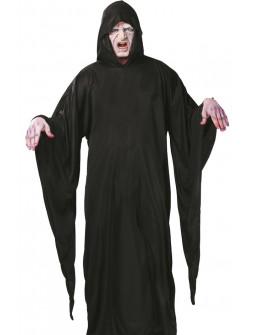 Disfraz de La Muerte con Capucha para Adulto