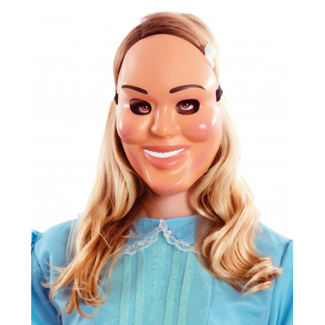 Máscara de La Purga de Mujer Sonriente