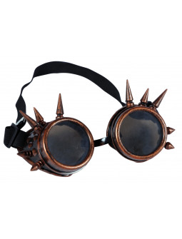 Gafas Steampunk Color Cobre con Pinchos