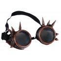 Gafas Steampunk Color Cobre con Pinchos