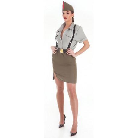 Disfraz de Legionaria Española para Mujer